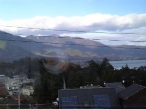秋の琵琶湖湖畔なう